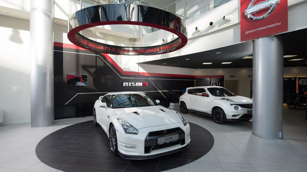 Nissan Nismo showroom