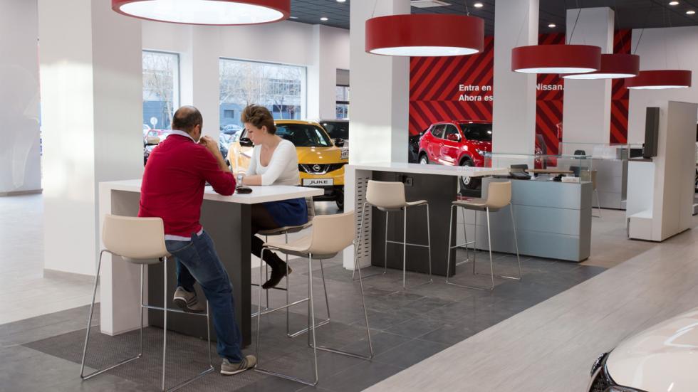 Nissan ofrece un espacio para los clientes