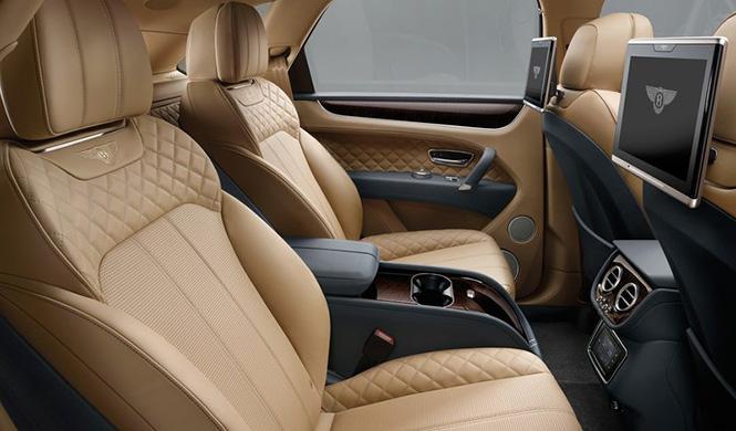 Tecnología Bentley Bentayga 3