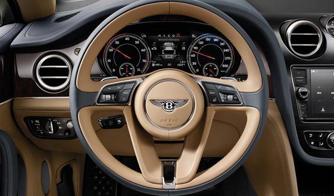 Tecnología Bentley Bentayga 4