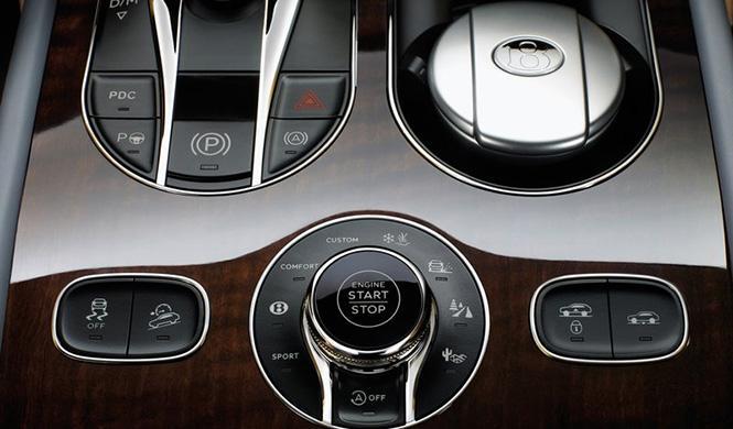 Tecnología Bentley Bentayga 7