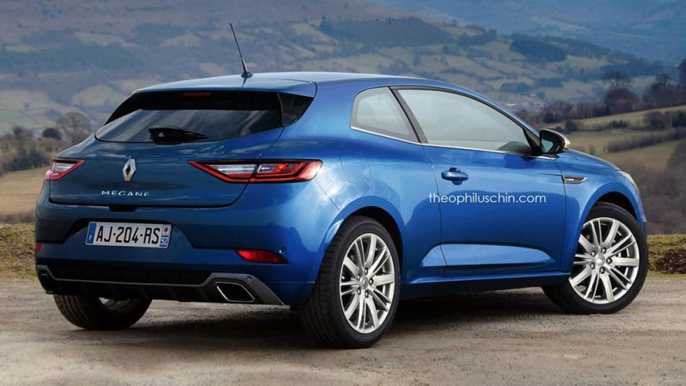 Renault Megane Coupe futuro 2016 theophilus chin trasera