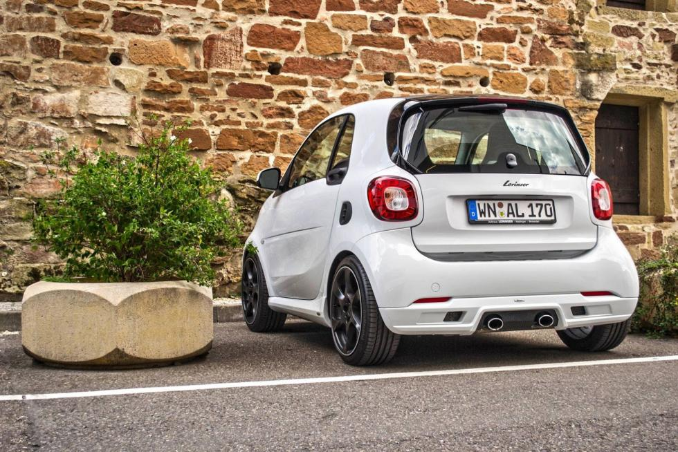 Smart Fortwo by Lorinser trasera