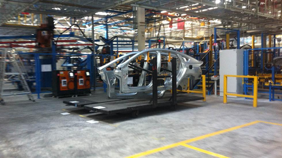Fábrica de Ford en Almussafes (Valencia)