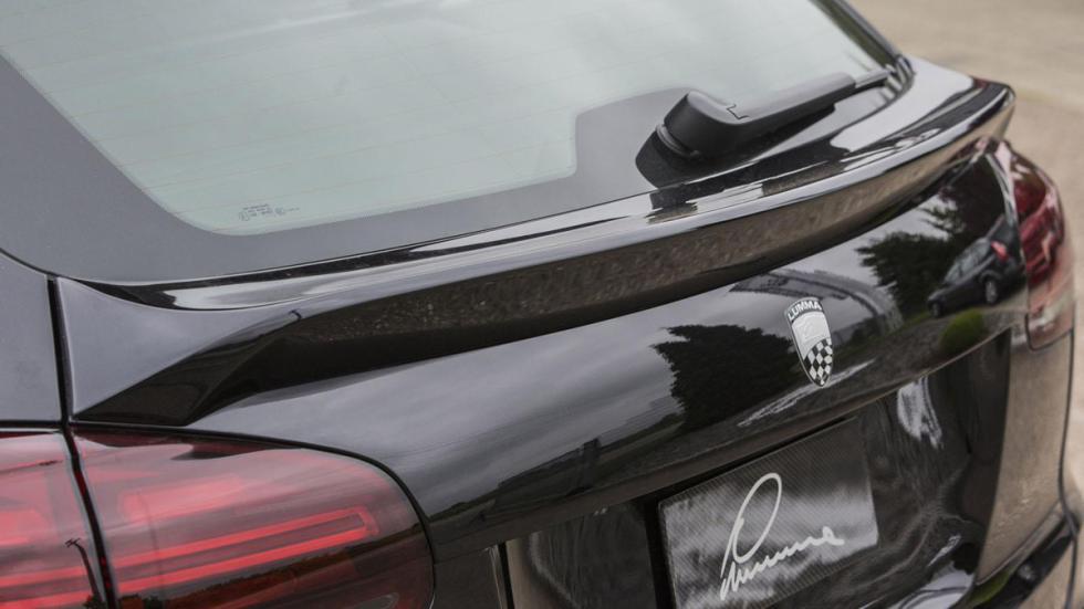 Porsche Cayenne Lumma CLR 558 GT-R aleron