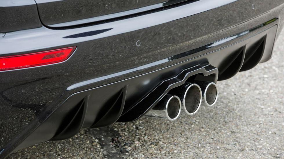 Porsche Cayenne Lumma CLR 558 GT-R difusor