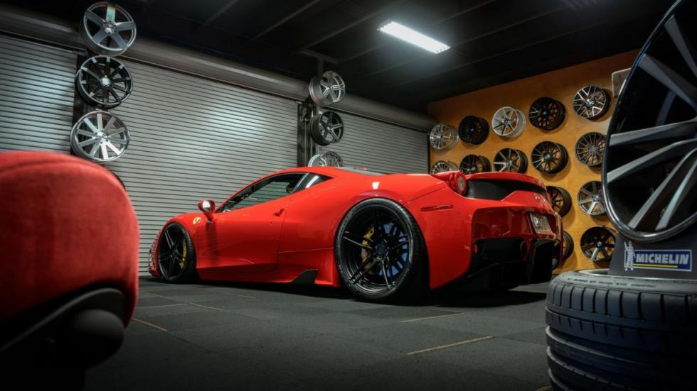 Ferrari 458 Speciale ADV trasera