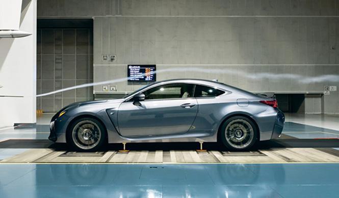 Túnel de viento de Lexus 2