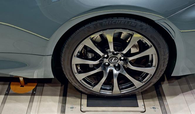 Túnel de viento de Lexus 5