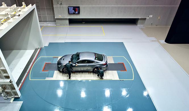 Túnel de viento de Lexus 6