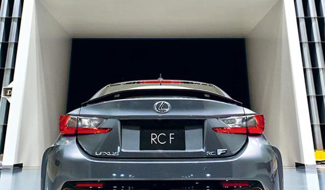 Túnel de viento de Lexus 7