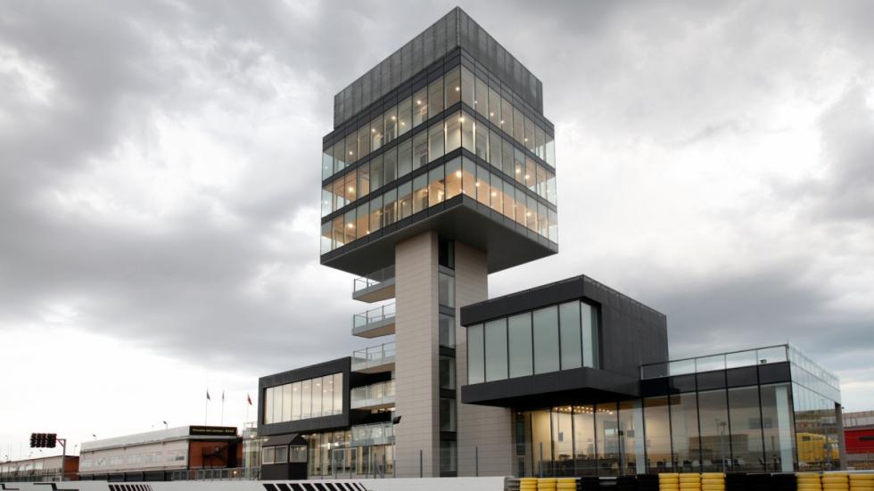 Torre nueva del Circuito del Jarama