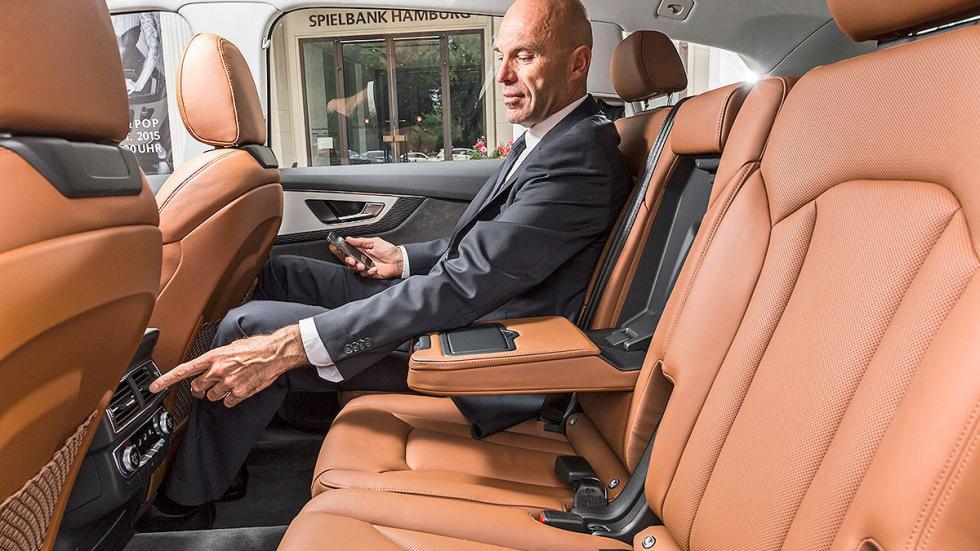 Audi Q7 detalle traseras