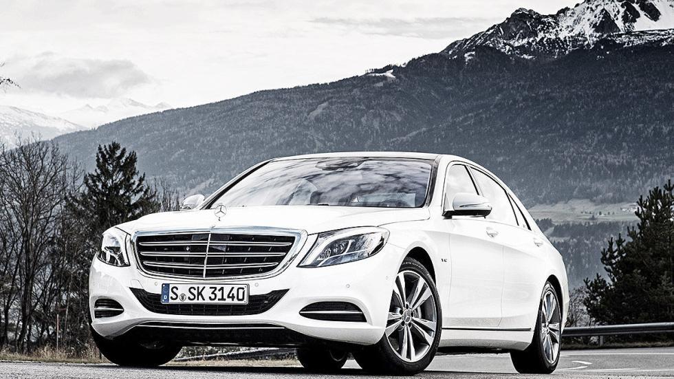 Mercedes Clase S morro