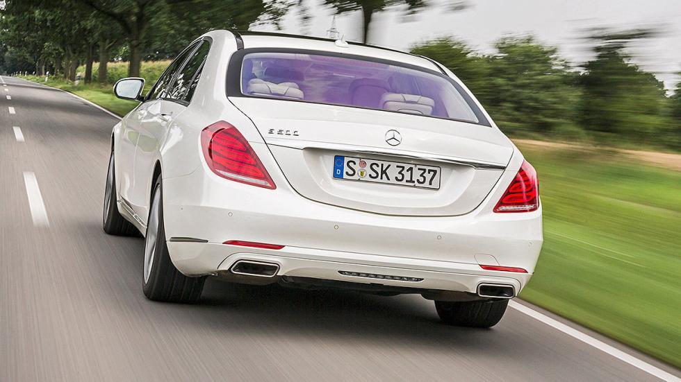 Mercedes Clase S zaga