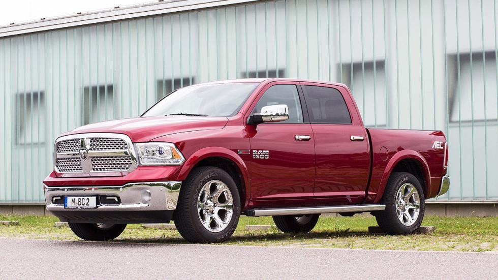 Prueba: Dodge Ram 1500 Eco Diesel. Un pick up a la europea 3 cuartos