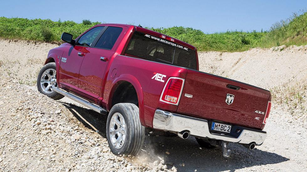 Prueba: Dodge Ram 1500 Eco Diesel. Un pick up a la europea offroad zaga