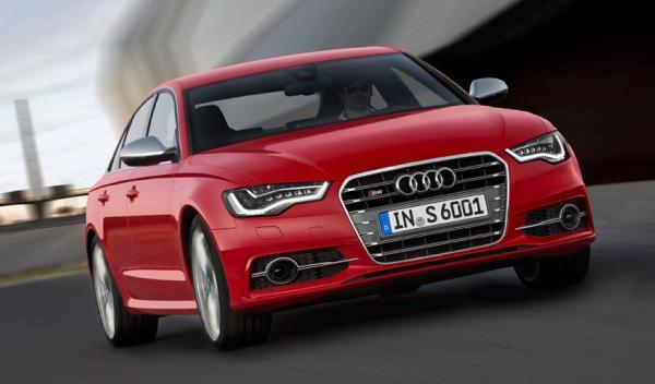 Audi S6 tres cuartos delanteros