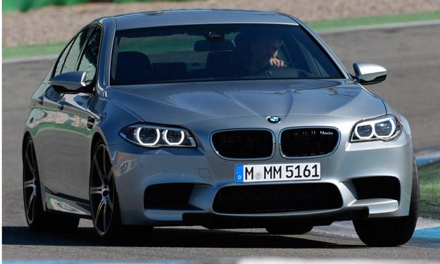 BMW M5 frontal