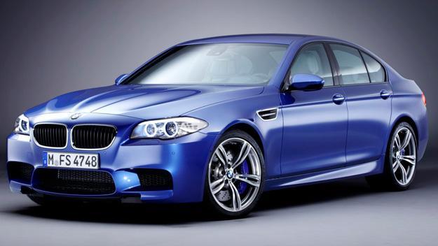 BMW M5 tres cuartos delanteros