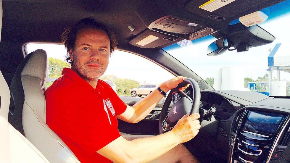 Prueba: Cadillac ATS V Coup 2015 interior