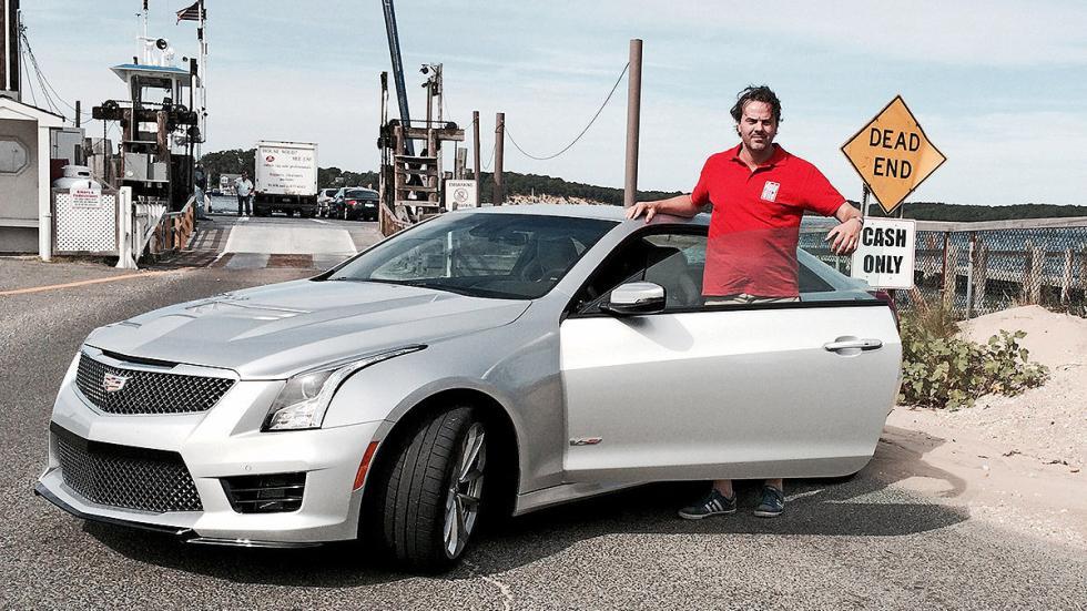 Prueba: Cadillac ATS V Coup 2015 puerta
