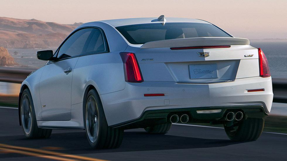 Prueba: Cadillac ATS V Coup 2015 zaga