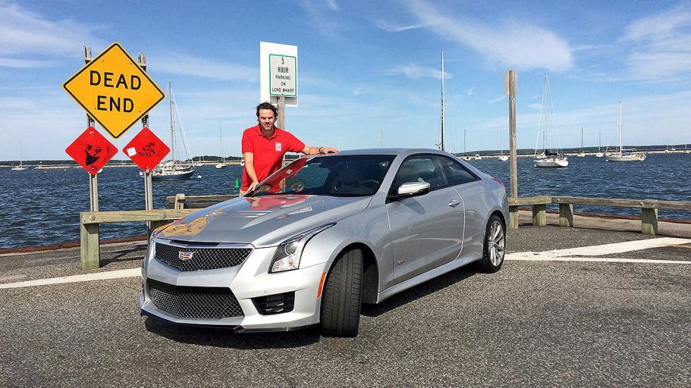 Prueba: Cadillac ATS V Coup 2015 redactor