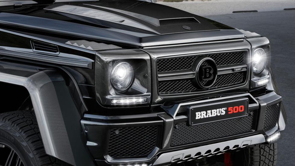 Mercedes Clase G Brabus morro