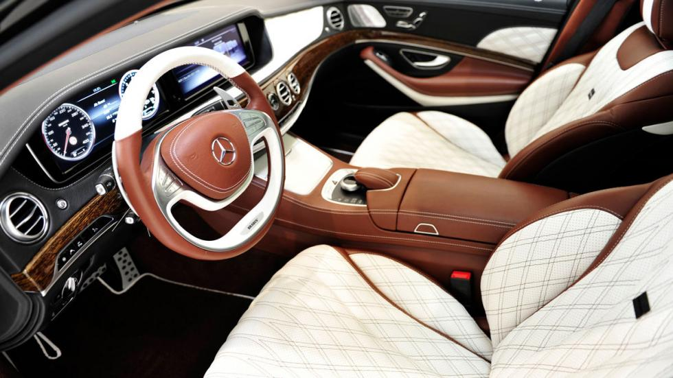Mercedes Maybach S 600 Brabus interior
