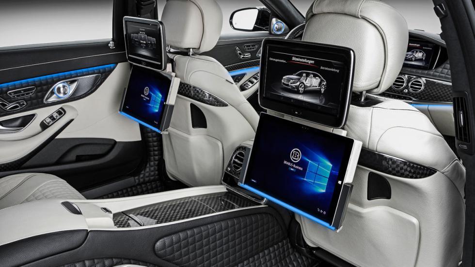 Mercedes Maybach S 600 Brabus interior traseras