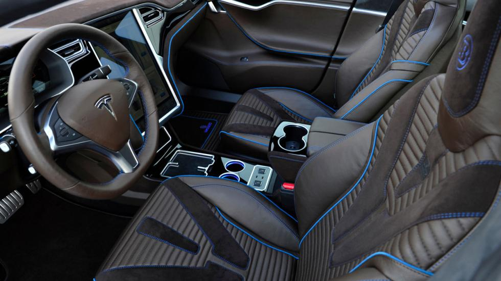 Tesla Model S Brabus interior