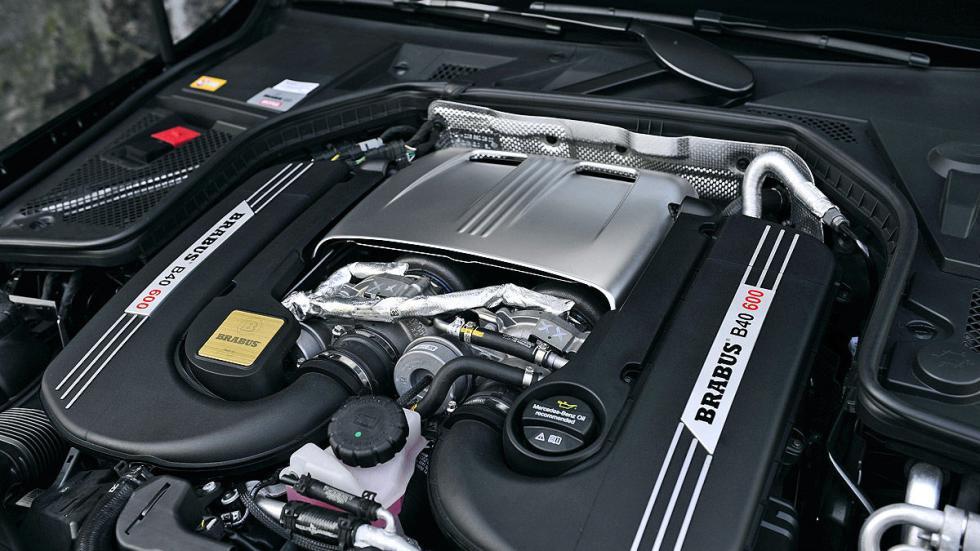 Mercedes Clase C Brabus motor