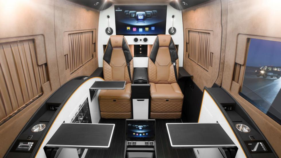 Mercedes Sprinter Brabus interior