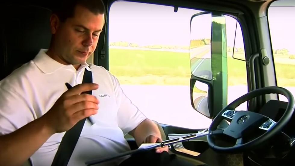 camiones autónomos más descanso