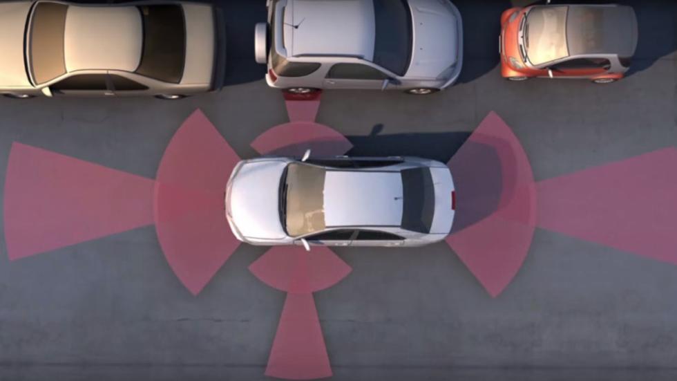 cámaras y sensores en los coches autónomos