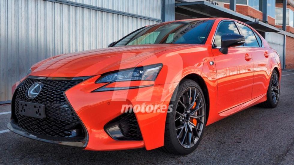 Lexus GS-F naranja