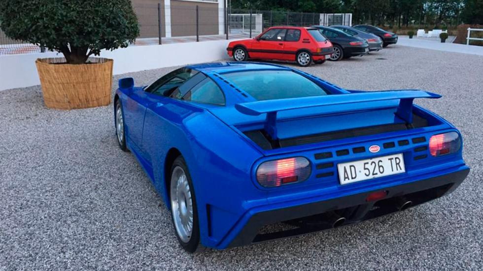 Bugatti EB110 GT trasera