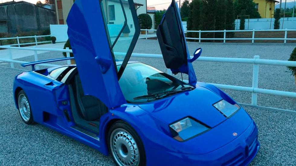 Bugatti EB110 GT puertas