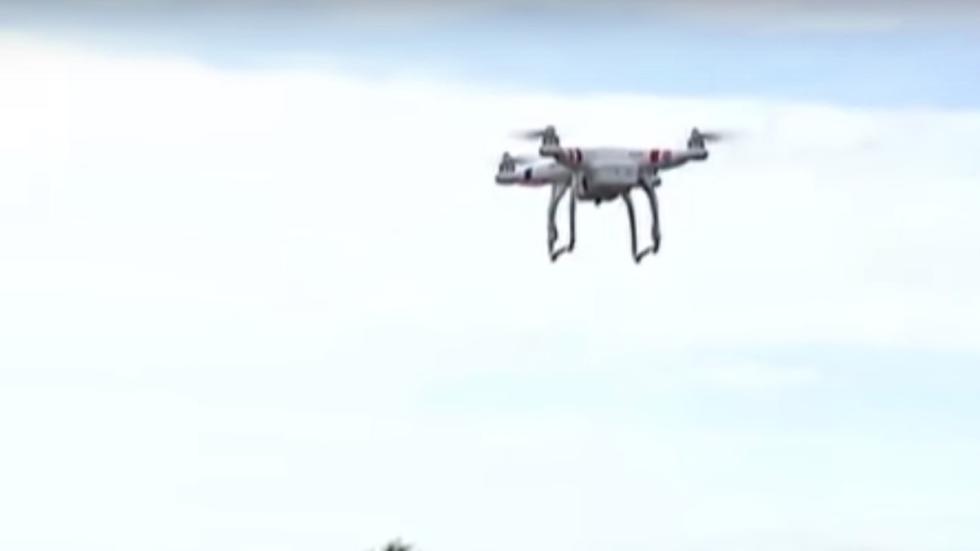 drones en las carreteras francesas