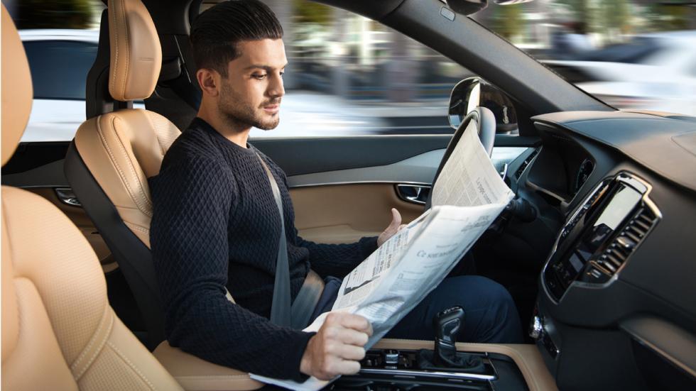 Conducción autónoma volvo
