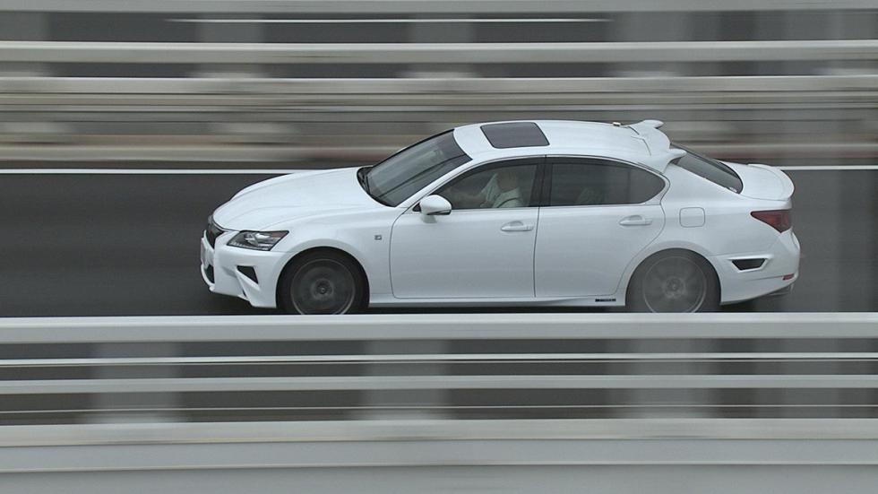Lexus GS conduccion autonoma