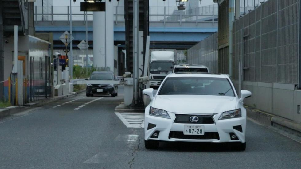 Lexus GS conduccion autonoma frontal