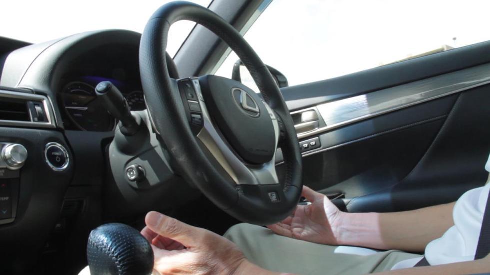 Lexus GS conduccion autonoma volante