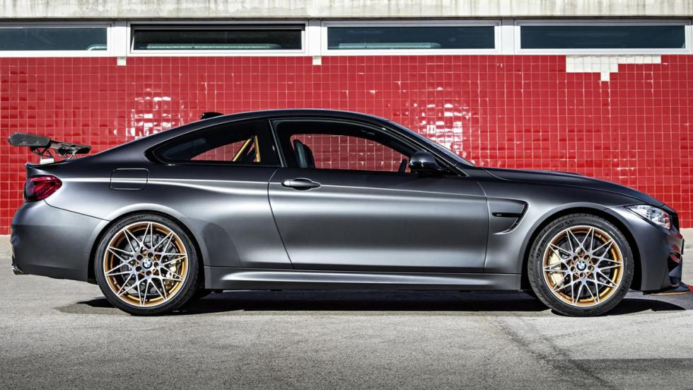 BMW M4 GTS lateral