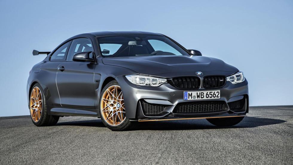 BMW M4 GTS tres cuartos delanteros