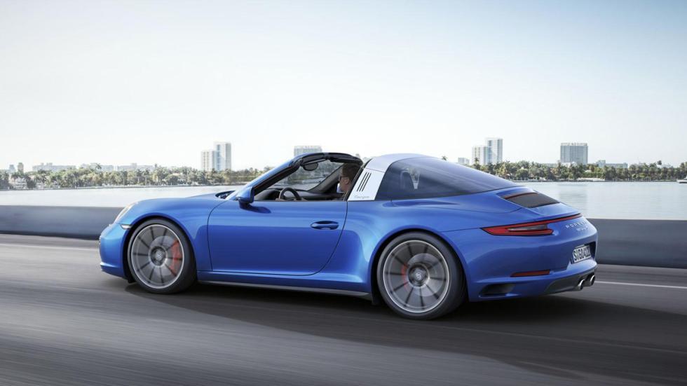 Porsche 911 targa 2016 lateral