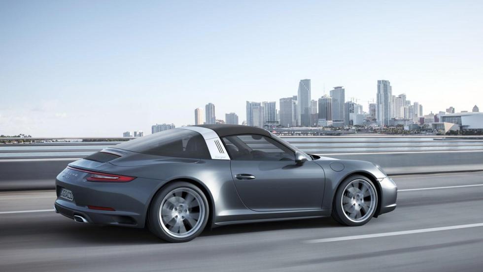 Porsche 911 targa 2016 trasera