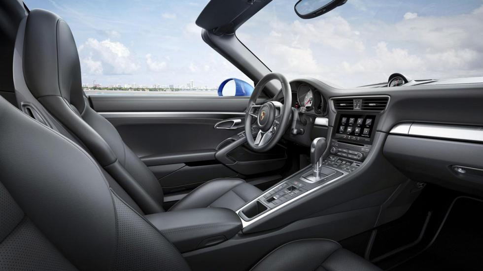 Porsche 911 targa 2016 interior