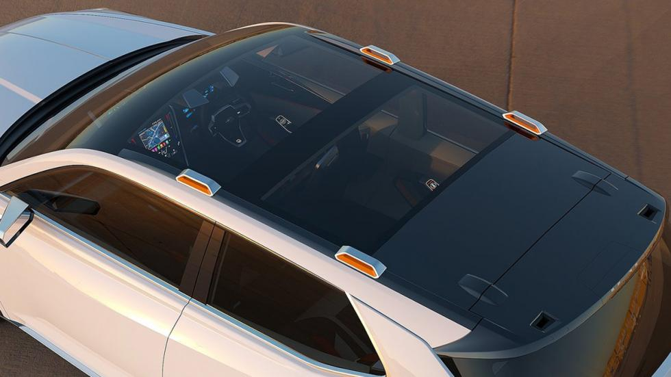 Subaru VIZIV Future Concept techo